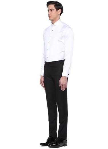 Beymen Collection Smokin Gömlek Beyaz